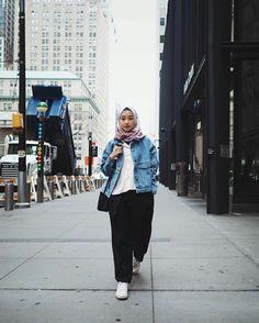 Style Hijab Remaja Kurus 58 Ideas For 2019 hijab casual remaja jeans Hijab Casual, Ootd Hijab, Modern Hijab Fashion, Street Hijab Fashion, Modest Fashion, Boyish Outfits, Boyish Style, Hijab Stile, Winter Fashion Outfits