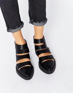 Image 1 ofYRU Katana Cut Out Ankle Boot (73)