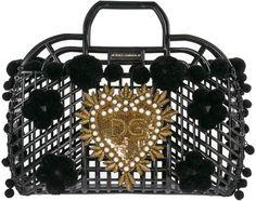 Shop Dolce & Gabbana Handbag Shopping Bag Purse Kendra and save up to EXPRESS international shipping! Cheap Purses, Cute Purses, Purses And Bags, Women's Bags, Pearl Logo, Dolce And Gabbana Handbags, Luxury Purses, Basket Bag, Small Handbags