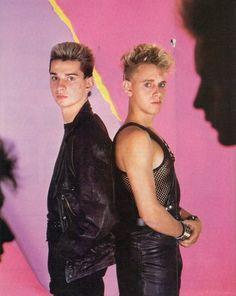 Gahore, Dave Gahan, Martin Gore, Depeche Mode
