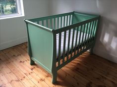 Farrow and Ball Arsenic Green Cot