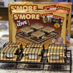 This unique gadget looks like a grill basket, but it's meant for marshmallows and graham crackers! Best of all, you can use it on your grill or in the oven, so campfire fun doesn't have to be limited to the outdoors.