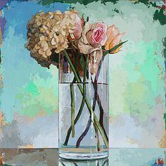 Flowers #18 Print by David Palmer