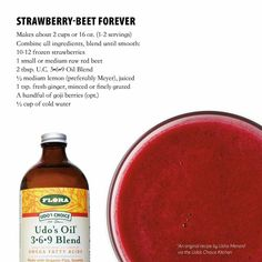 Strawberry-Beet Forever Smoothie