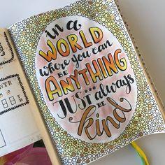65 vind-ik-leuks, 1 reacties - Annemieke Nijenhuis (@echt_miek) op Instagram: 'Eindelijk de tijd genomen om weer eens wat in mijn #bujo te tekenen. ❤️ goudkleurige inkt! • •…'