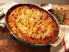 Hasselback Potato Gratin (These Might be the Best Potatoes Ever)
