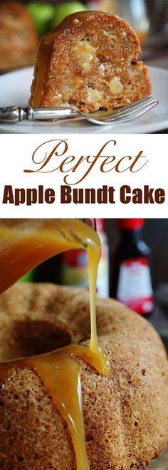 Reader tested and approved!! This is the BEST Apple Bundt Cake! #cake #bundtcake #applebundt #iambaker #iambakercake