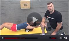 FOAM ROLLER for THORACIC spine