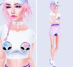 Space girl   #imvu #fashion #sims✌