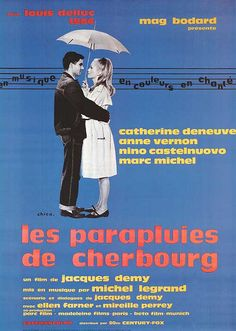 The Umbrellas of Cherbourg / 1964 movie poster