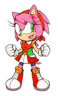 Makeover - Amy Rose by Cylent-Nite on DeviantArt
