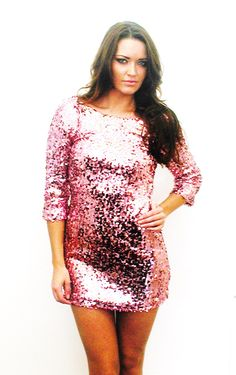 Plus Size Sequin Dress With Sleeves 2014-2015 | Fashion Trends 2014-2015