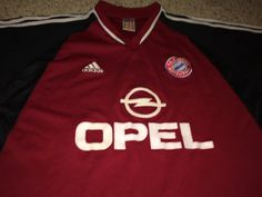 c5110b466 Sale Vintage Adidas BAYERN MUNCHEN Soccer Jersey by casualisme Munich  Football