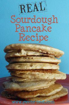 Sourdough Pancake Recipe {Trim Healthy Tuesday} - Gwens Nest