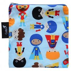 Colibri - Large Reusable Bag - Superhero Boy