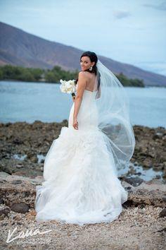 "Bridal Veil Chapel Length Wedding Veil 72, 108"" wide 80"" long ivory, champagne, bridal illusion tulle long veil floor length bridal veil by GracefullyGirly on Etsy https://www.etsy.com/listing/68047255/bridal-veil-chapel-length-wedding-veil"