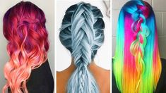 15 Amazing Hair Color Transformations! Beautiful Hairstyles Tutorials Co...