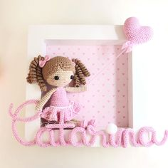 Crochet Toys Patterns, Stuffed Toys Patterns, Crochet Dolls, Crochet Baby, Crochet Wall Art, Amigurumi For Beginners, Expecting Mom Gifts, Baby Frame, Felt Baby