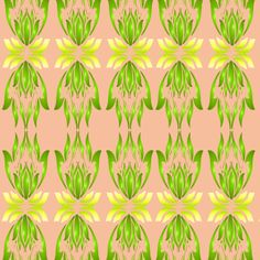 Shop Calming Lotus 3 fabric by Margaret Juul at WeaveUp - custom fabric