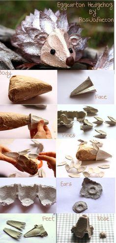 DIY egg carton   DIY Reuse   From SENSE&GRACE