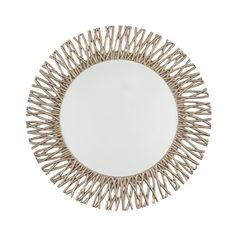 This Adel Round Mirror in champagne silver leaf finish makes a beautiful impression and merits admiration wherever it is placed. Diameter: 101cm Weight: nett Finish: Champagne Silver Leaf Hanging Instruction: Portrait / Landscape