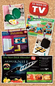 Value, Variety and Convenience AS SEEN ON TV PRODUCTS you will enjoy from PUBLISHERS CLEARING HOUSE