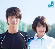 "[Trailer] Taishi Nakagawa x Suzu Hirose, TV ad. ""Sea Breeze"". Release: Apr. 2015"