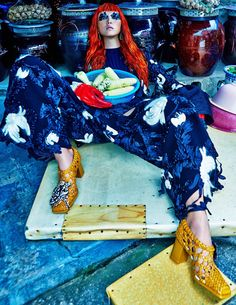 Sung Hee Kim by Hong Jang Hyun for W Magazine Korea September 2015