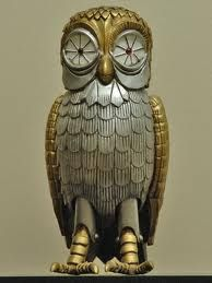 Clash of the Titans-  OMFG-this is why I always thought owls were kinda cool...BUBO!!!!!!