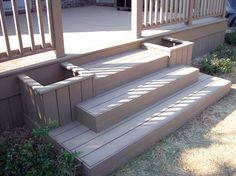 Custom steps and Planters