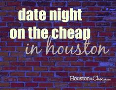 Date Night on the Cheap: Hit the Books via Houston on the Cheap.com