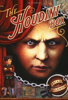 The Houdini Box by Brian Selznick, http://www.amazon.co.uk/dp/0689844514/ref=cm_sw_r_pi_dp_QqnOrb0JEPHQQ