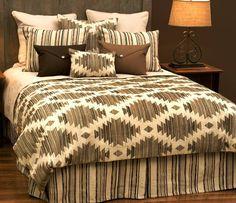 deluxe stampede southwest bedding ensemble set wd23620 the stampede deluxe bed ensemble set with its beautifully coordinated soutu2026 - Southwest Bedding
