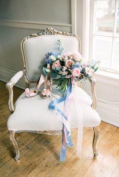 Rose quartz and serenity wedding inspiration   Wedding & Party Ideas   100 Layer Cake