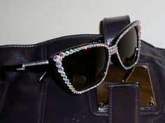Sparkly sunglasses for summer!