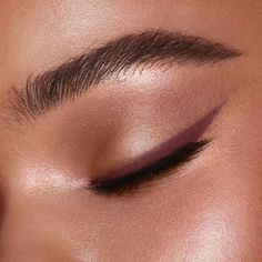 Shop Pillow Talk Eyeliner, a berry brown eyeliner pencil for a sultry smokey eye. Discover more eye makeup icons including eyeliner and mascara online. Eyeliner Looks, Pencil Eyeliner, Makeup For Brown Eyes, Eyeshadow Looks, Pink Eyeliner, Coloured Eyeliner, Makeup Kit, Eye Makeup, Eye Liner