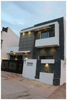 New house design 5 marla modern house design by midtown homes 5 house 5 marla house . new house design Minimalist House Design, Modern House Design, Duplex House Design, Modern Architecture House, Architecture Design, Double Story House, Bungalow Haus Design, House Front Design, House Elevation