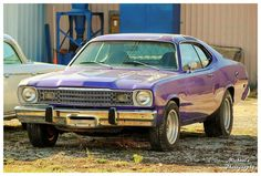 Purple Plymouth Duster