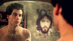 John Travolta - Saturday Night Fever (1977) Iconic Movies, Classic Movies, John Travolta Pulp Fiction, Karen Lynn Gorney, Saturday Night Fever, Retro Pop, Last Dance, Guy Drawing, Movie Wallpapers