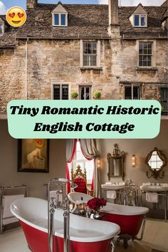 Tiny Romantic Historic English Cottage