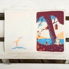 #sketchbook #arradon #posca #poscaart