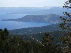 Diamond Peak Ski Resort - breathtaking views of Lake Tahoe.
