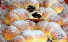 Desať receptov na plnené rožteky - Žena SME Slovak Recipes, Czech Recipes, Russian Recipes, Sweet Desserts, Sweet Recipes, Cake Recipes, Sweet Pastries, Bread And Pastries, Mini Cheesecakes