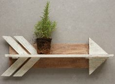 Wooden Arrow Wall Decor