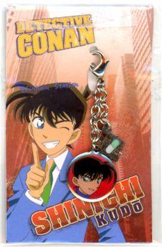 Anime Detective Conan Case Closed Fastener Accessory Kudo Shinichi (Jimmy) #2