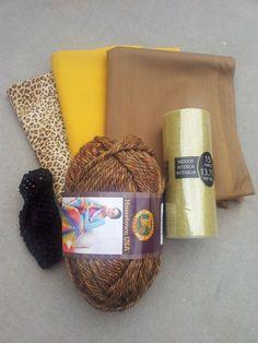 Simba tutu lion king tutu run disney tutu skirt by funruntutus diy fabric tutu lion costume solutioingenieria Choice Image