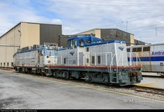 The 1100 was the shop switcher at Beech Grove for years, but was brought east to Wilmington when Washington Terminal needed the former Wilmington shop switcher, the 737. With it is AEM-7AC 901, which was one of the first AC examples to be retired.