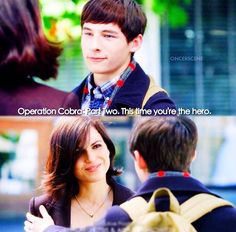 This time you're the hero | Regina and Henry | 6x02