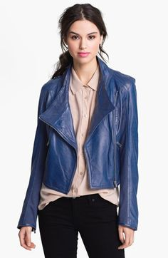 Bod & Christensen Leather Moto Jacket | Nordstrom