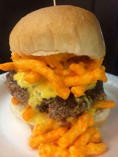 Cheesy CHEETOS® Burger
